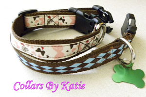pet collars by katie