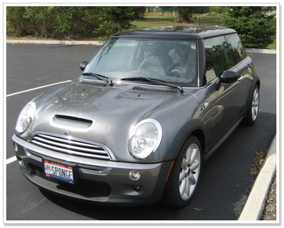Mini Cooper Raffle Black and Orange Cat Foundation
